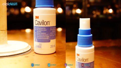 cavilon dari 3m membantu meringankan rasa sakit pada ruam popok anak