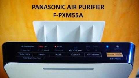 panasonic air purifier pxm55a