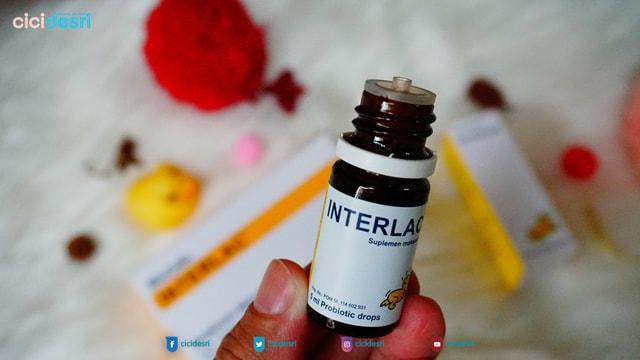 manfaat interlac probiotics untuk kesehatan saluran cerna bayi dan dewasa saat diare