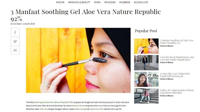 istyle.com review kecantikan, kesehatan dan fashion