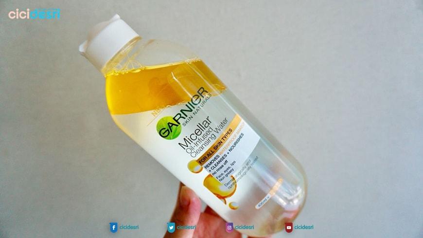 garnier micellar oil water