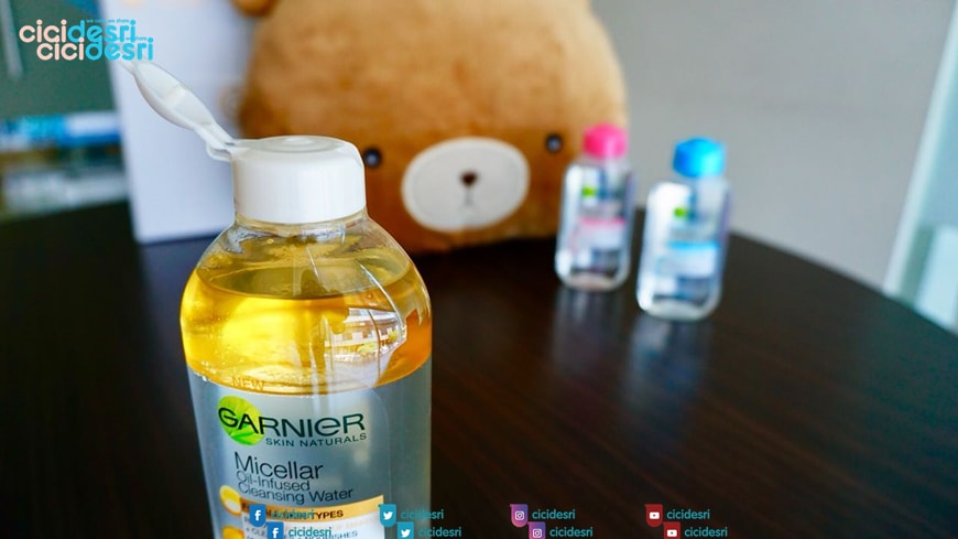 garnier micellar oil water