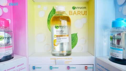 garnier micellar water oil cleansing