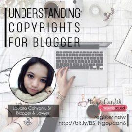 hak cipta atau copyright untuk blogger dan influencer