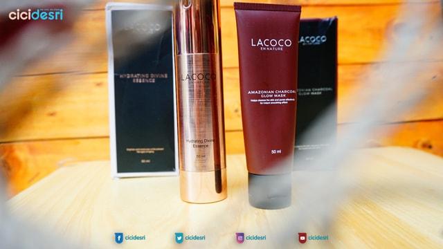lacoco en nature, masker lumpur pulau jeju, masker arang, lacoco essence, produk skincare lokal terbaik, skincare organik lokal