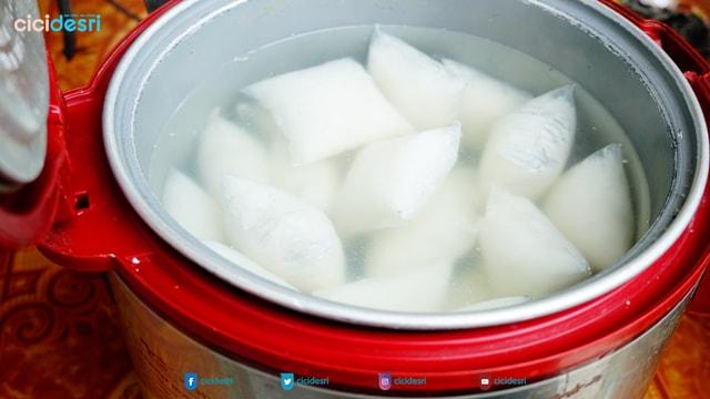 cara masak ketupat praktis, enak, pulen, anti gagal dengan pat pat K-Tupat Mini K-Link