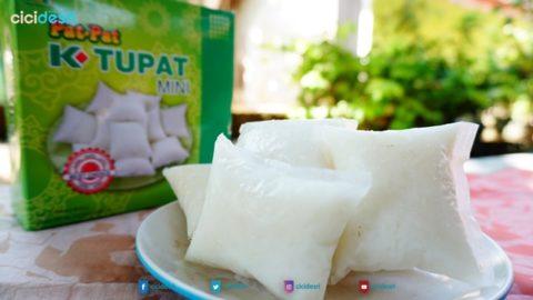 cara masak ketupat praktis, enak, pulen, anti gagal dengan pat pat ketupat mini K-Link