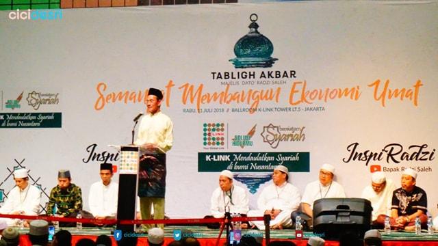 tabligh akbar, ustadz abdul somad, k-link MLM Syariah,peluang bisnis usaha rumahan