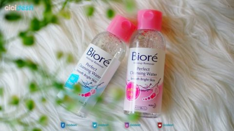 harga biore perfect cleansing water, review biore perfect cleansing water, makeup remover biore perfect cleansing water, biore cleasning water soften up, biore cleansing water oil clear