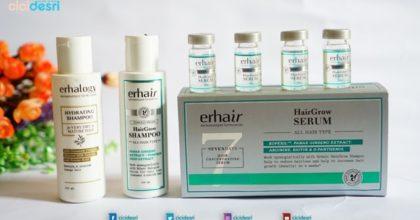 Atasi Rambut Rontok dengan Tepat, Erhair dan Erha Hair Follicle Activation Therapy