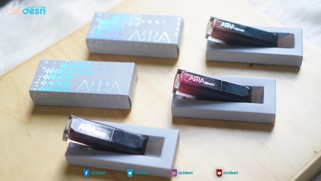 arra beauty lip matte, lip matte lokal bagus, harga arra beauty lip matte, arra beauty shade, arra beauty review