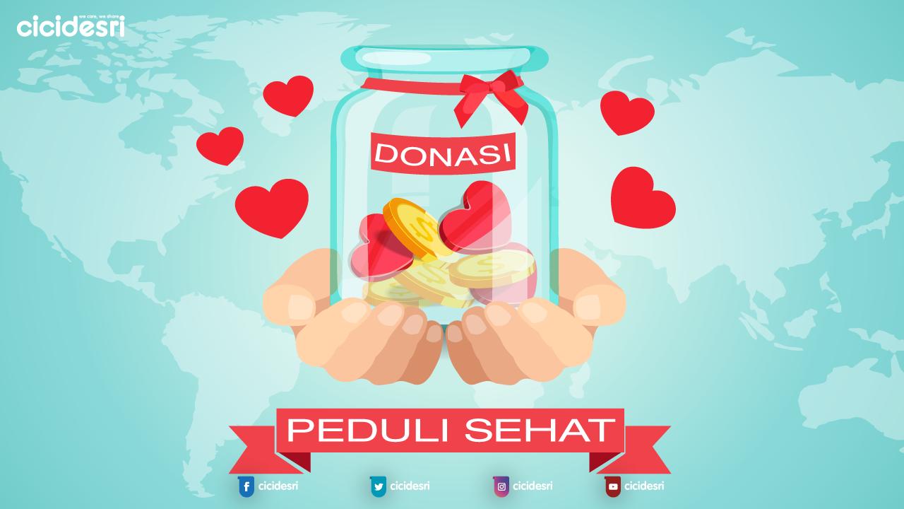 donasi online bersama peduli sehat