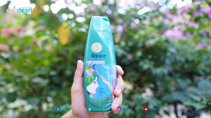 harga shampoo rejoice
