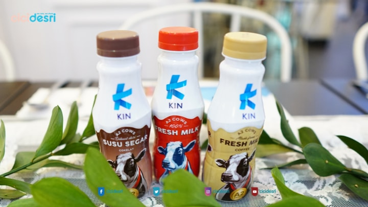 kin fresh milk untuk berbuka