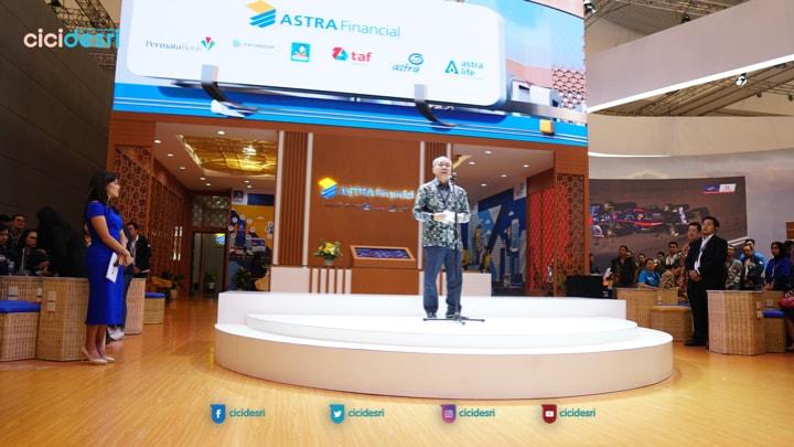 astra financial jadi sponsor utama giias 2019