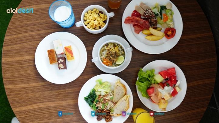 menu sarapan best western premier hotel