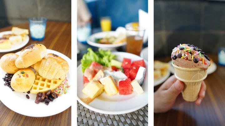 menu sarapan di best western premier hotel