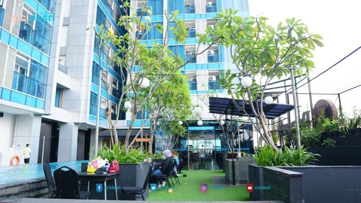 suasana lantai 5 best western premier hotel