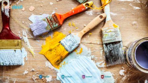 tips cat rumah yang hemat