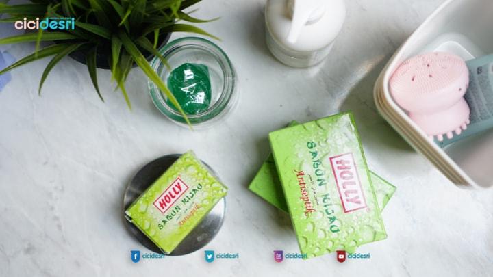 manfaat holly sabun hijau