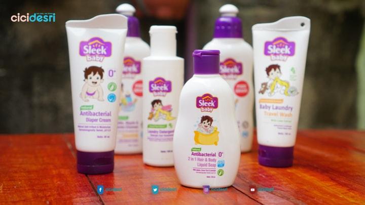 rangkaian produk Sleek Baby Foodgrade