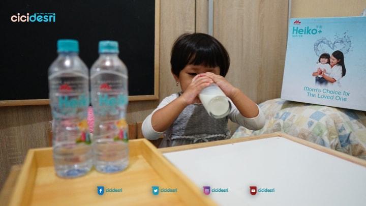heiko water untuk pelarut makanan anak