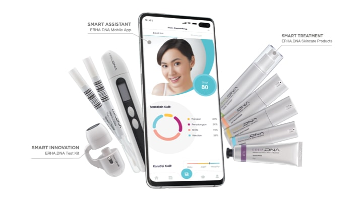 skin lense, moisture test, swab test