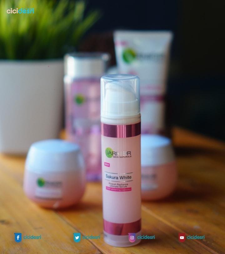 Garnier Sakura White Pinkish Radiance Ultimate Serum 2