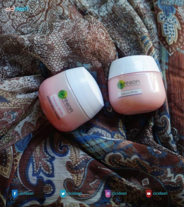Garnier Sakura White Whitening Serum Cream SPF21:PA+++