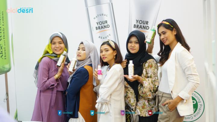 beautypreneur miliki brand personal care sendiri