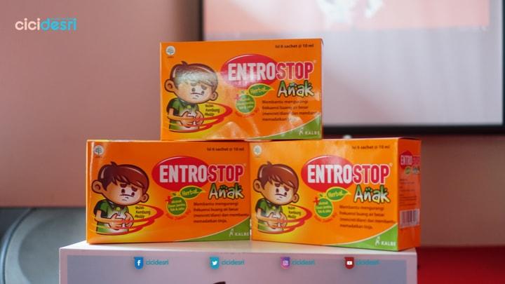 entrostop herbal anak sachet