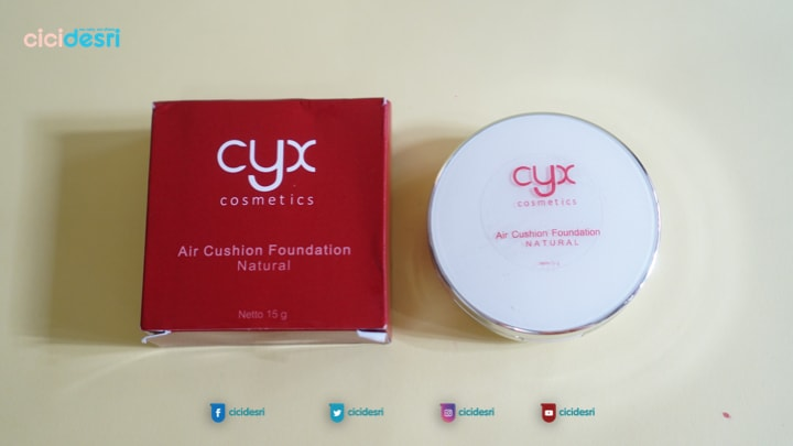 kemasan cyx air cushion foundation