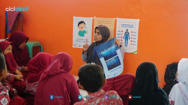 perkenalan hidrasi untuk anak SD