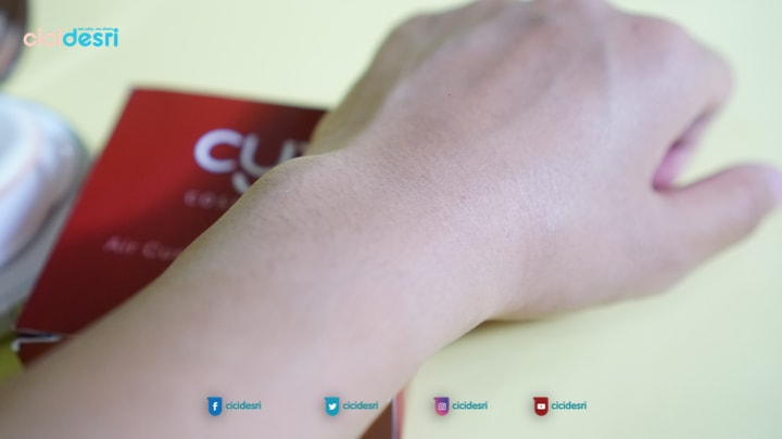 swatch cyx air foundation shade natural
