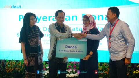 csr bca 2019 donasikan blood scale dan mixer
