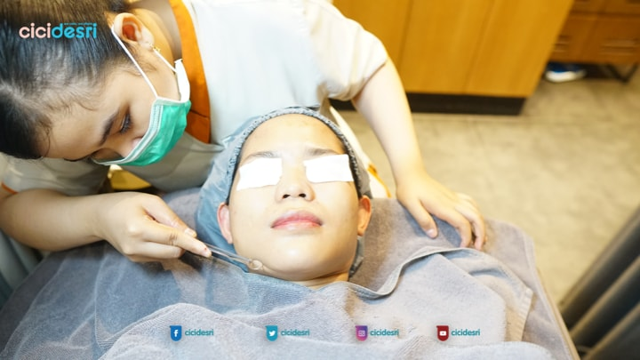 review erha deep pore cleansing therapy