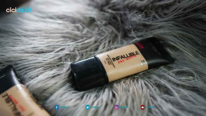 foundtion matte anti kilap