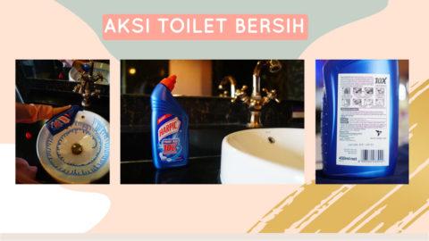 harpic gelar aksi toilet bersih