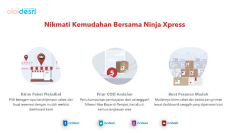 keunggulan layanan ninja xpress, customer service ninja xpress