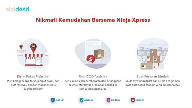 keunggulan layanan ninja xpress, customer service ninja xpress