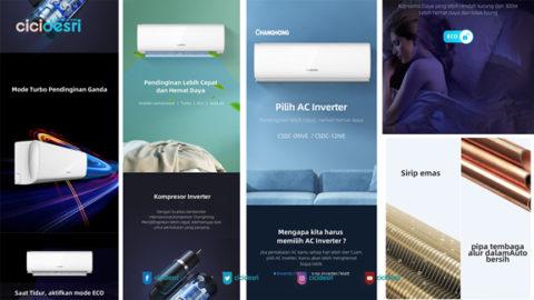 AC awet tahan lama, merk AC bagus, promo AC 2020