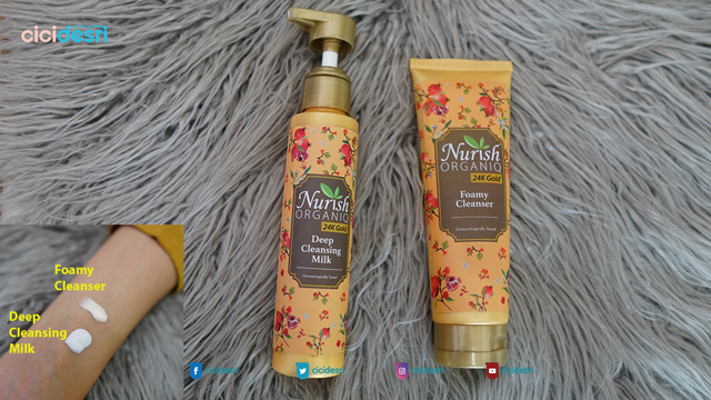 nurish organiq 24k gold review, nurish organiq