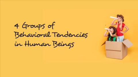 4 Kelompok Tendensi Sikap yang Ada pada Manusia
