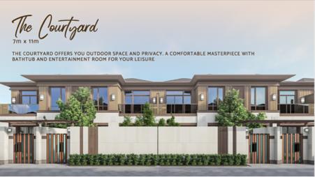 konsep perumahan modern, rumah bernuansa danau, rumah ramah lingkungan, rumah ramah anak