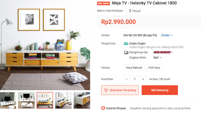 shopee haul home decor dan furniture