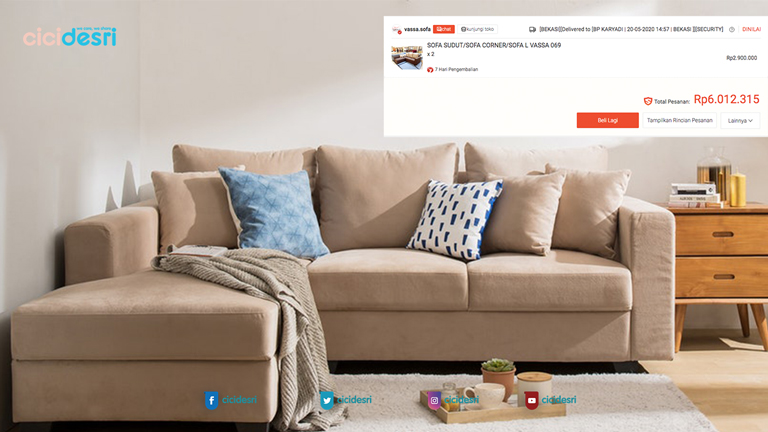tips belanja furniture online