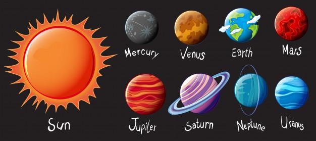 printable solar system, free printable, free download printable