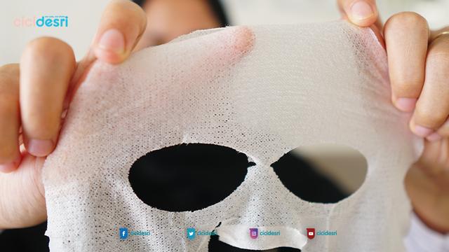 avoskin sheet mask, sheet mask lokal