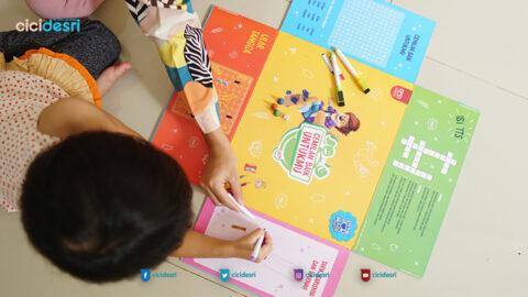 mainan anak ular tangga, indra taktil, Paddle Pop Luncurkan Logo Cemilan Baik untuk Tumbuh Kembang Anak