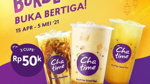 chatime indonesia, chatime mango stikcy rice